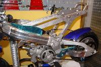 minimoto cinese C2 telaio alluminio