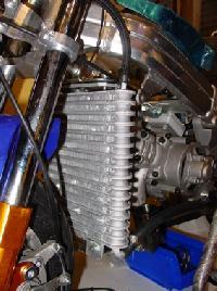 minimoto cinese C2 radiatore maggiorato