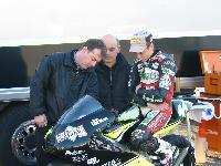 Luca Marconi esordio 125 GP