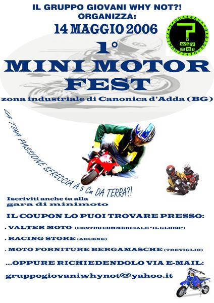 mini motor fest bergamo minimoto day