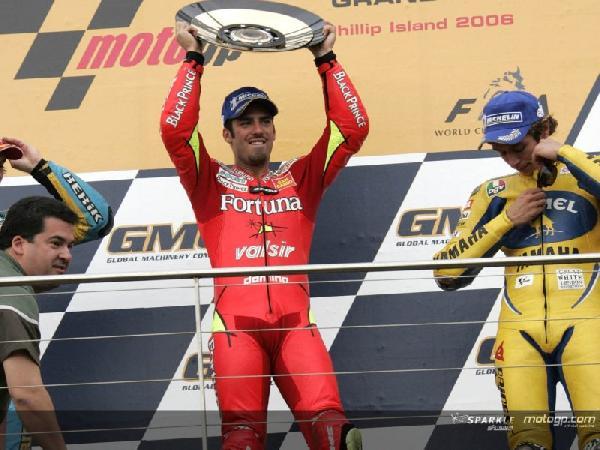 risultati motogp phillip island podio