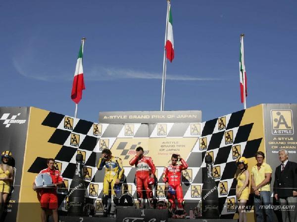 risultati motogp motegi podio