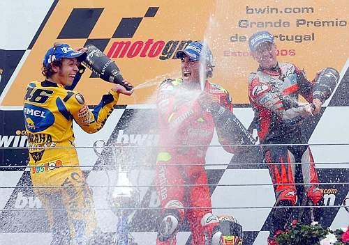 risultati motogp Estoril podio