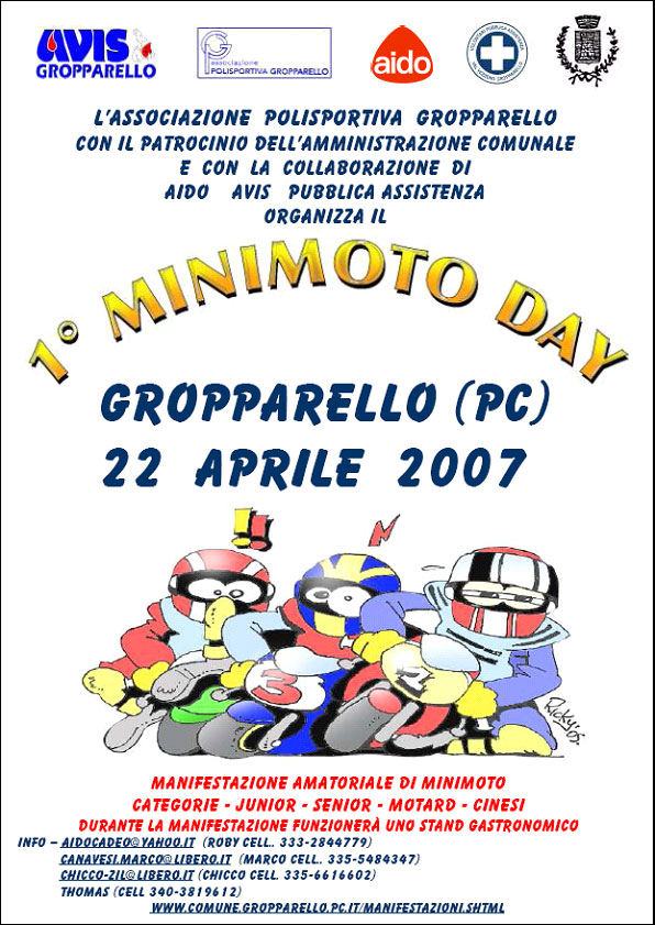 minimoto day gropparello