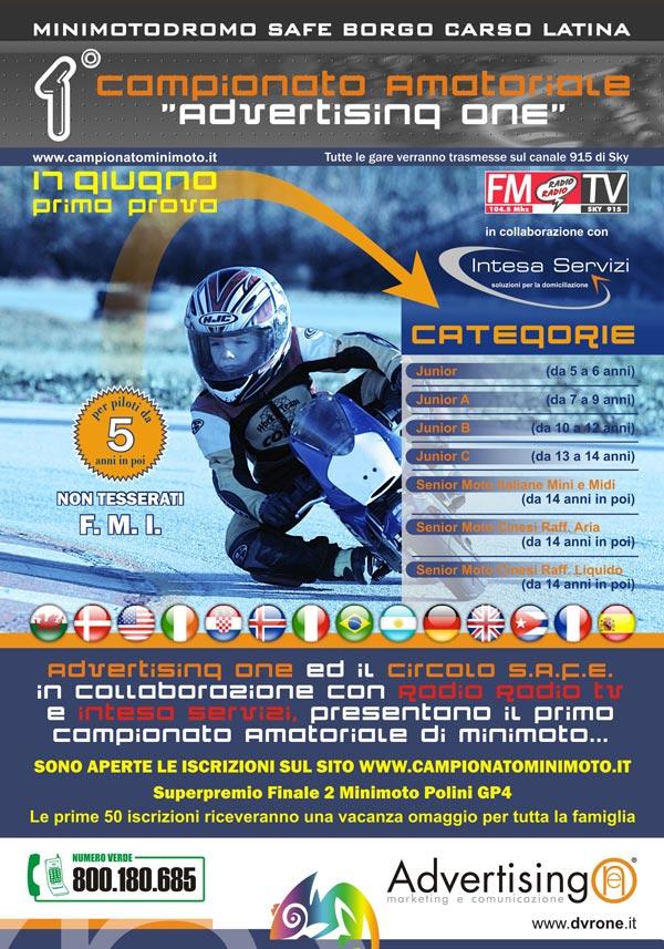 campionato minimoto amatoriale sky
