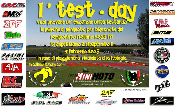 Test Day rinviato al 10 febbraio