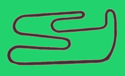 Disegno indicativo della pista